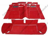 MGB Roadster 4 Synchro 1967 to 1980 Carpet Set - Wessex Wool Range